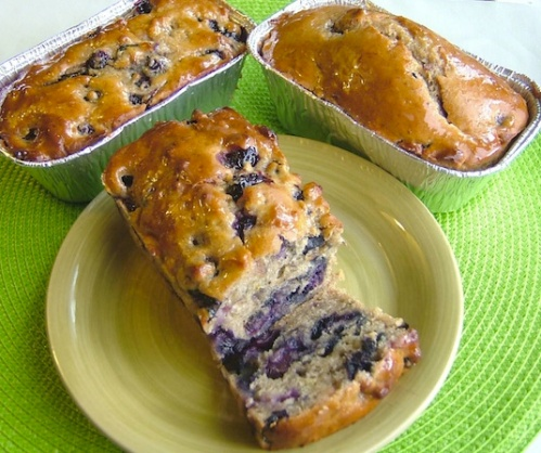 Blueberry Orange Honey Bread